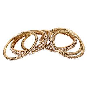 Vendee Fashion Bangles, Bracelets (Imititation) - Vendee Elegant Alloy Zinc Bangle