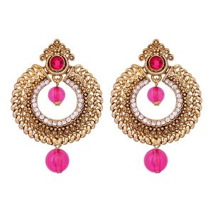 Chaandbalis Beautifully Crafted From Metal Alloy Dangler Earrings 8657b