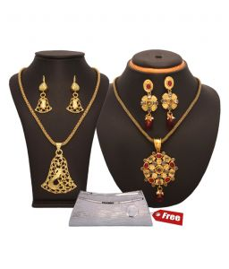 Vendee Eye-catchy Pendants Combo Set (898)