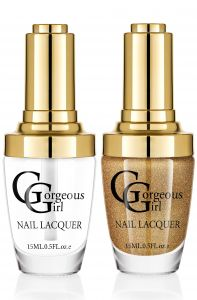 Glossy Nail Lacquer Pack Of 2 - By Gorgeous Girl (code -np01-20)