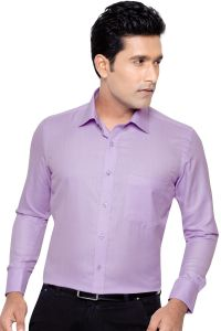 Beetel Mens Formal Office Wear Shirt Purple By Corporate Club (code - Bettel 06)