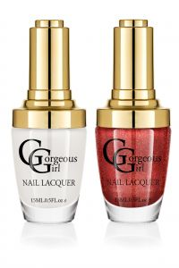 Glossy Nail Lacquer Pack Of 2 - By Gorgeous Girl (code -np01-38)