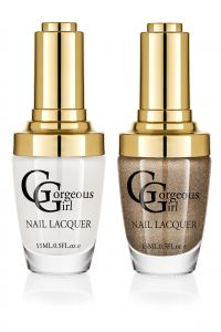 Glossy Nail Lacquer Pack Of 2 - By Gorgeous Girl (code -np01-40)