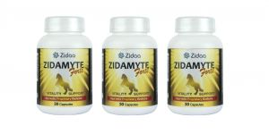 Zidaa Zidamayte Forte For Men Vitality Power, 30 Capsules Each, Pack Of 3 (code - Zidaa-zf-p3)
