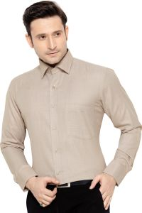 Beetel Mens Formal Office Wear Shirt Brown By Corporate Club (code - Bettel 05)