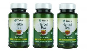Zidaa 100% Natural Herbal Tea - Pack Of 3 (30 Tablets Each) (zidaa-ht-p3)