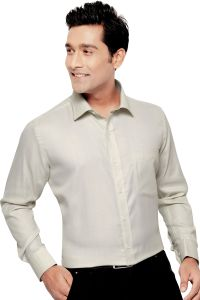 Beetel Mens Formal Office Wear Shirt Beige By Corporate Club (code - Bettel 08)