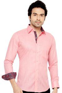 Pronto Semi Formal Shirt Pink By Corporate Club (code - Pronto 03)