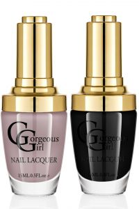 Glossy Nail Lacquer Pack Of 2 By Gorgeous Girl(code -np -02 -14)