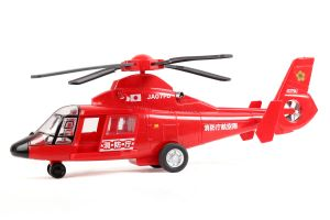 Toyco Light And Sound Fire Fighting Helicopter, A Product From Japan (code - Tlsffh)
