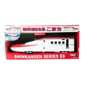 Toyco Bullet Train Shinkansen E6-based Super Komachi, A Product From Japan (code-toyco-02)
