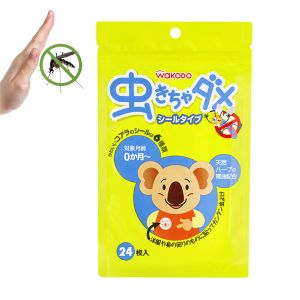 Health & safety - Insect Repellent Patch by Wakodo (24 Pcs Pack) - Made in JAPAN(Code -CITD006)