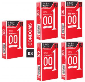 Ultra-sensitive Thin Condom By Okamoto - Pack Of 5 - (code - Citd012)