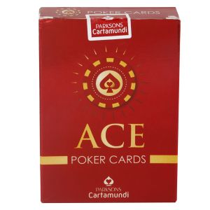 Parksons Cartamundi Ace Poker Pure Plastic Playing Card For Fun / Game / Party(code -p-ap-01)