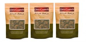 Wafers, Chips etc. - Desi Crunch Pack of 3, Ayur Amla (Code - DC-AA-3)