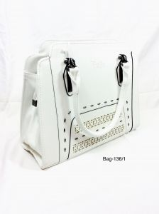 Handbags - Stylish Handbag for Women by Boga (Code - Bag-136 White)