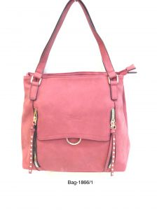 Stylish Handbag For Women By Boga (code - Bag -1866 Pink)