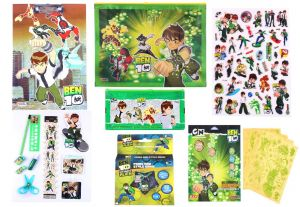 Ben 10 Gift Set Mbtgs499 Multicolour (pack Of 1) By Sticker Bazaar