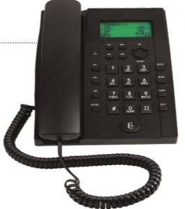 Corded Landline Phone Black By Binatone (code - Bt-730)