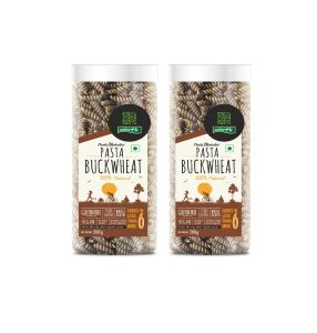 Buckwheat Gluten Free Pasta Pack Of 2 - 200g Each - By Nutrhi (code - Nhb02)