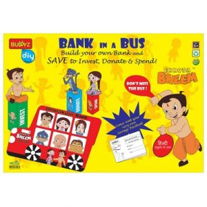 Kids' Accessories (Misc) - Chhota Bheem Bank in a Bus By Buddyz