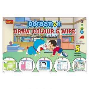 Doraemon Draw, Color And Wipe By Buddyz