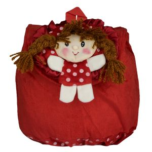 Candy Rakshak School Bag Red - By Lovely Toys (code - Cr01)