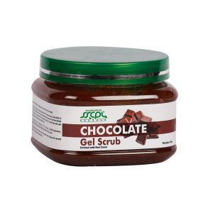 Sscpl Herbals Chocholate Gel Scrub (450gm)( Code - Gs_choc_022 )