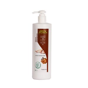 Sscpl Herbals Clove Cinnamon Hand & Foot Relaxing Gel (200ml)( Code -hf_rgel_03 )
