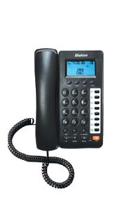 Corded Landline Phone Two Way Speaker Black By Binatone (code - Bt_800n)
