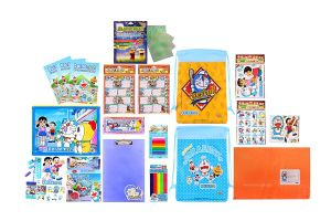 Doraemon Combo 1099 Multicolour (pack Of 1) By Sticker Bazaar