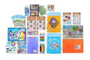 Doraemon Combo 1299 Multicolour (pack Of 1) By Sticker Bazaar