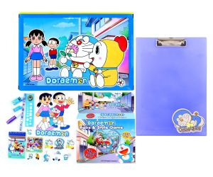 Doraemon Gift Set Mdmgs349 Multicolour (pack Of 1) By Sticker Bazaar