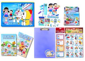Doraemon Combo 479 Multicolour (pack Of 1) By Sticker Bazaar