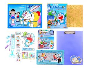 Doraemon Gift Set Mdmgs499 Multicolour (pack Of 1) By Sticker Bazaar