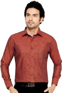 Tunica Party Wear Shirt Dark Orange By Corporate Club (code - Tunica 004)
