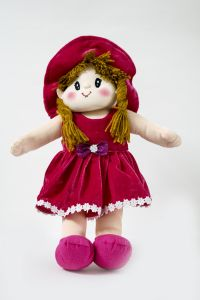 Baby Doll Girl - Dolly Velvet - Rani Color By Lovely Toys(code - Ltddvrr_04 )