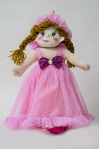 Baby Doll Girl Amaira Pink Color By Lovely Toys(code -ltdamp_01 )