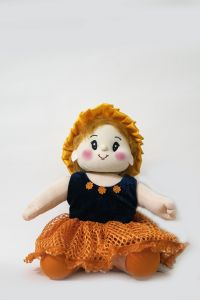 Baby Doll Girl Sweety Orange Color By Lovely Toys(code - Ltdwo_01)