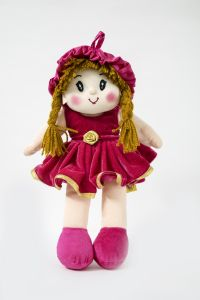 Baby Doll Girl Monica Velvet Girl Rani Color By Lovely Toys (code - Ltdmvra_02)