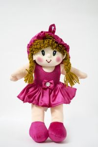Baby Doll Girl Monica Satin Girl Rani Color By Lovely Toys (code - Ltdmrp04)