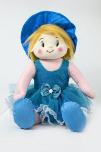 Baby Doll Girl Gracy Blue Color By Lovely Toys(code -ltdgrb_01 )