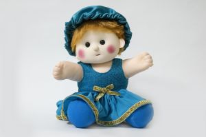 Baby Doll Girl Sania Blue Color By Lovely Toys (code - Ltdsb_04)