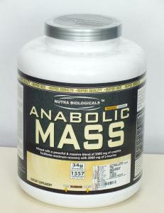 Nbam2007-nutra Biologicals Anabolic Mass-chocolate