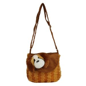 Flap Dog - Brown- By Lovely Toys (code -fd01)