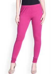 Kaym - 100% Cotton Leggings - Pale Violet Red (code - Kym-pvr-01)