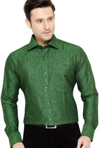 Formal Shirts (Men's) - TUNICA PARTY WEAR SHIRT GREEN By Corporate Club (Code - Tunica 01)
