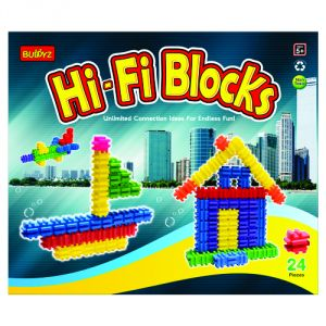 Toys accessories - Hi-Fi Blocks  By Buddyz (Code - BZ-16)