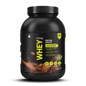 THINQ Whey Protein Isolate Chocolate Flavour - 908gms (30 Servings) (Code - I000872)