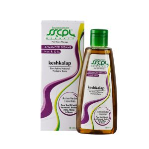 SSCPL HERBALS Keshkalap Advanced Sesame Hair Oil (200ml)( Code - KASHO_200 )